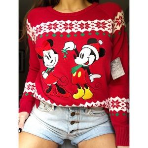 🎄Disney Store Exclusive Christmas Sweater